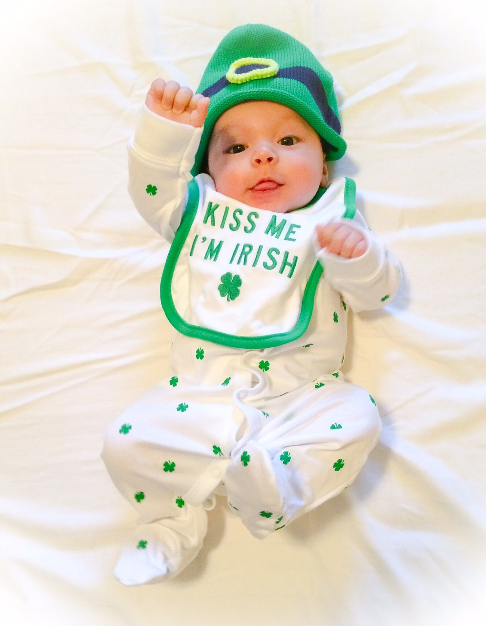 St. Patrick's Day, costumes for babies, kiss me I'm Irish, Parades