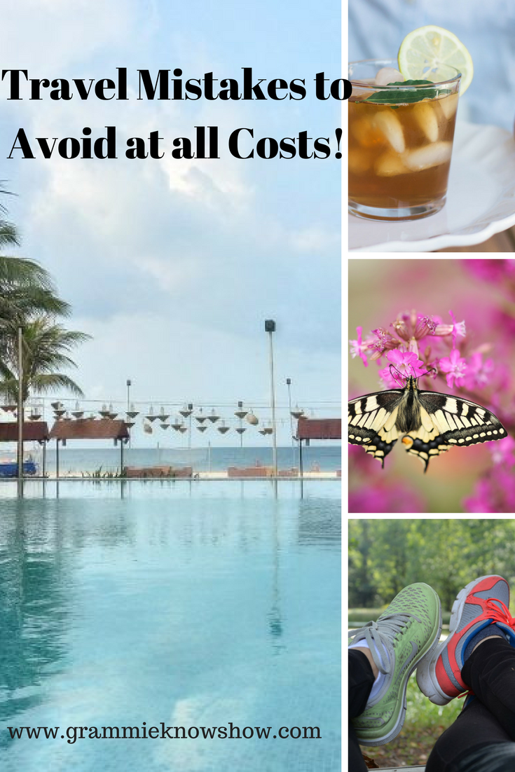 travel mistakes, be prepared, Key to planning a great holiday