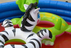 backyard pool fun, make a splas