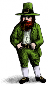St Patrick's Day Leprechaun,Irish traditions, Irish stories, Tall Tales